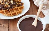 チョコなし!材料3つチョコレートソース♪ココアパウダーで簡単