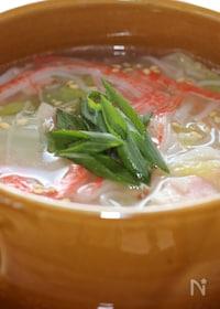 『白菜の中華スープ』