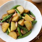 シンプルな美味しさ!『春野菜の塩炒め』#簡単