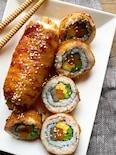 子供も喜ぶ!肉巻き寿司