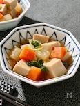 栄養素が詰まった♡高野豆腐と野菜の煮物