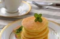 米粉のパンケーキ☆豆腐入りでふんわり&栄養アップ!