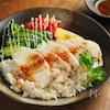 【しっとり鶏むね肉】フライパンで1つで作る簡単カオマンガイ