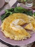 簡単!まるごとカマンベールのダブルチーズガレット
