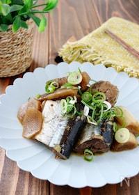 『圧力鍋で*秋刀魚とごぼうの甘辛煮』