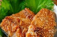 濃いめの味でご飯が進む🍚🍚鯖の生姜味噌焼き🐟😋
