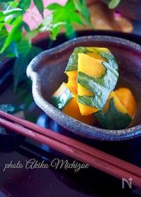『【レンジで簡単】ほっこりかぼちゃの甘煮#作り置き#お弁当』