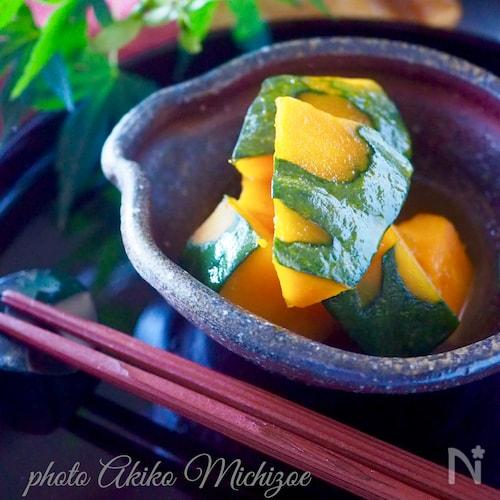 【レンジで簡単】ほっこりかぼちゃの甘煮#作り置き#お弁当