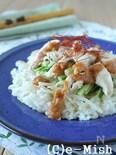 【炊飯器で簡単!】棒々鶏ごはん