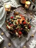 ちょっぴり豪華に魚介のサラダ