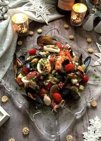 『ちょっぴり豪華に魚介のサラダ』