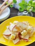 1分でお洒落おつまみ完成!りんごチップスとチーズのメープル