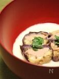 ホワイトソースと白味噌で作る茄子の田楽