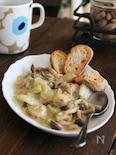 【第98話】白菜とホタテのクリーム煮(動画あり)