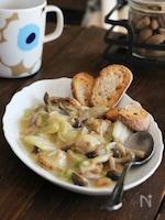 【#98】白菜とホタテのクリーム煮(動画あり)