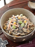 れんこんとひじきのデリ風♡和サラダ【#作り置き#お弁当】