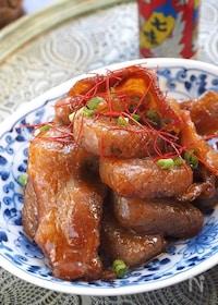 『【すぐでき和定食】豚バラとこんにゃくのコチュ炒め』