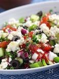 夏野菜たっぷり♪地中海風サラダ