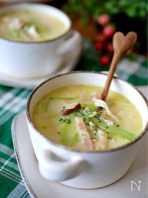 【セロリとエリンギの旨味スープ】食物繊維美味しくたっぷり