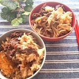 ご飯だけでも満足出来ちゃう♡牛肉と舞茸の炊き込みご飯