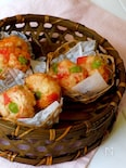 サラダスティック(カニ風味かまぼこ)の手作りガンモ