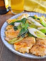 【テリテリコクうま◎】鶏むね肉と長ねぎの照り焼き#ご飯に合う
