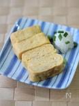丸いフライパンでも作れる 卵焼き