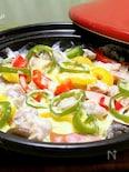 使ってます?タジン鍋「タジン鍋でチキンのミルク蒸し煮」