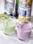オリーブとフルーツの豆乳スムージー