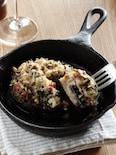 ジャンボマッシュルームのオーブン焼き