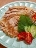 炊飯器で簡単!鶏肉とトマトのアジアンライス