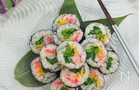 ひな祭りに作りたい//ちらし風巻き寿司