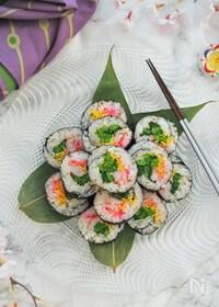 『ひな祭りに作りたい//ちらし風巻き寿司』
