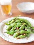 簡単一品おつまみ!枝豆の花椒炒め