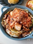 10分・お酒もご飯もすすむ「旨辛!豆腐とキャベツの韓国風」