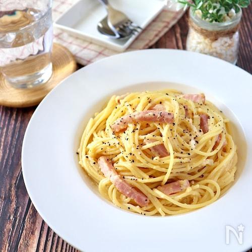 人気 カルボナーラ レシピ