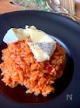 おうちイタリアン〝トマトリゾットカマンベールチーズのせ〟