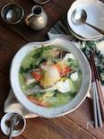 レンジ調理OK!タラと白菜の薬味おろしあんかけ