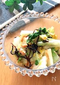 『箸が止まらないサラダ♡白菜バージョン』