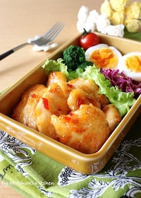 『作り置き*鶏胸肉のスイチリソース炒め』