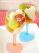 蜂蜜レモン味のコンポートdeプチトマトの白玉パンチ