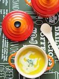 【朝ごはんにも】かぼちゃの和風ポタージュスープ