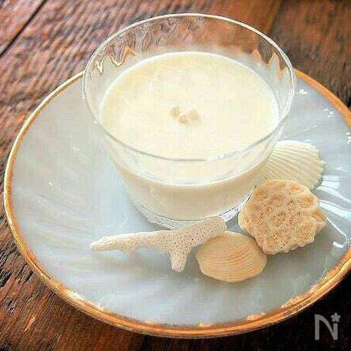 真夏のココナッツミルクプリン