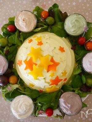 星に願いを☆『colorfulデコレーションサラダ』