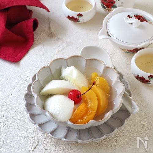 リッチミルクの杏仁豆腐