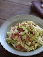白菜とチャーシューのサラダ