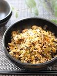 5分で万能おかず♡高菜と鶏ひき肉とネギの炒め物