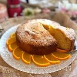 手作りリコッタで作るリコッタチーズケーキ オレンジ風味