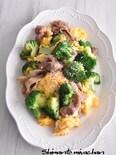 豚肉とブロッコリーの卵炒め