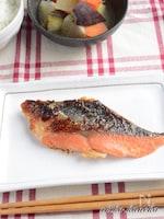 鮭の糀味噌焼き